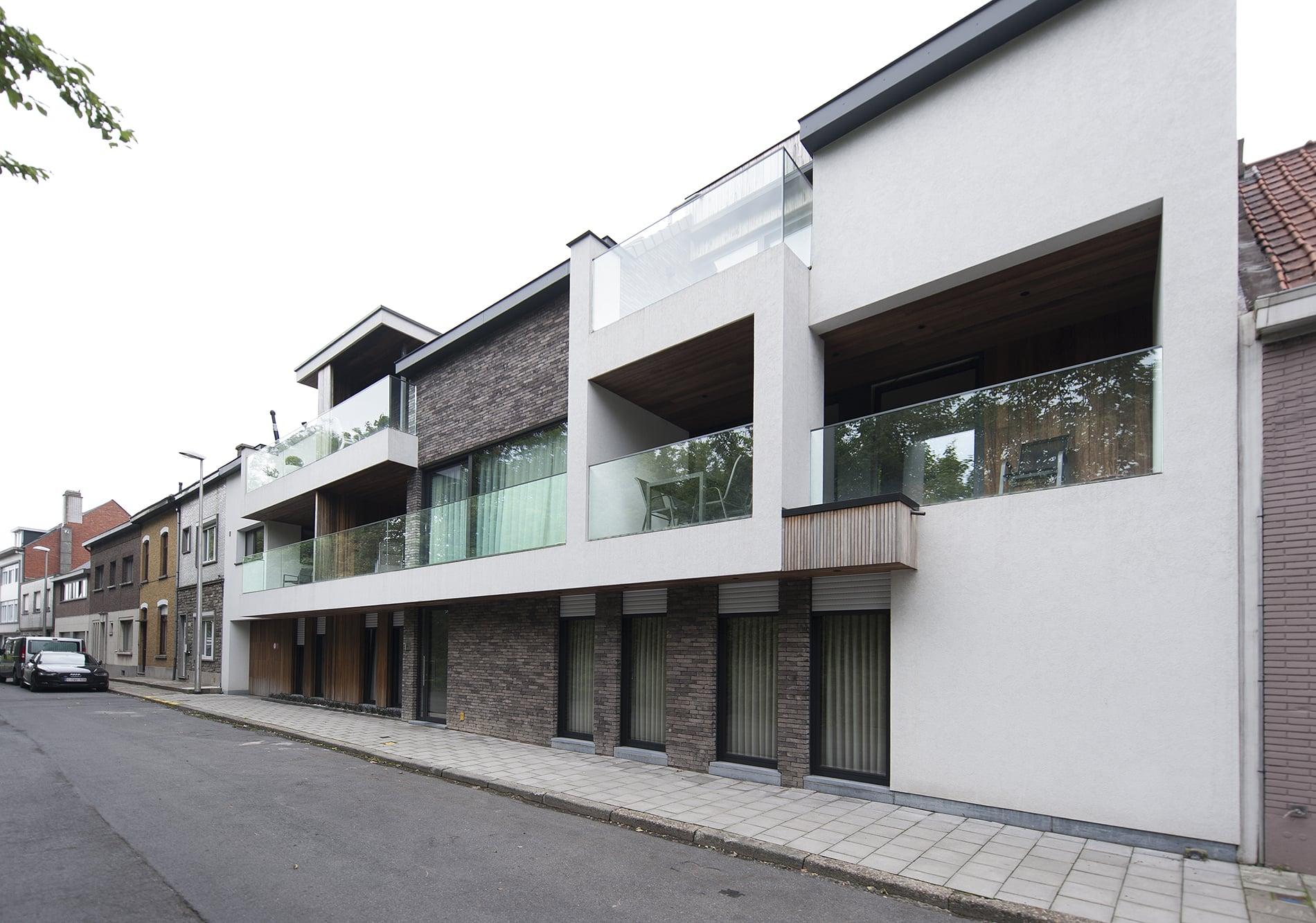 Park view - 8 appartementen - Zelzate | Realisaties - Strak bouw bv