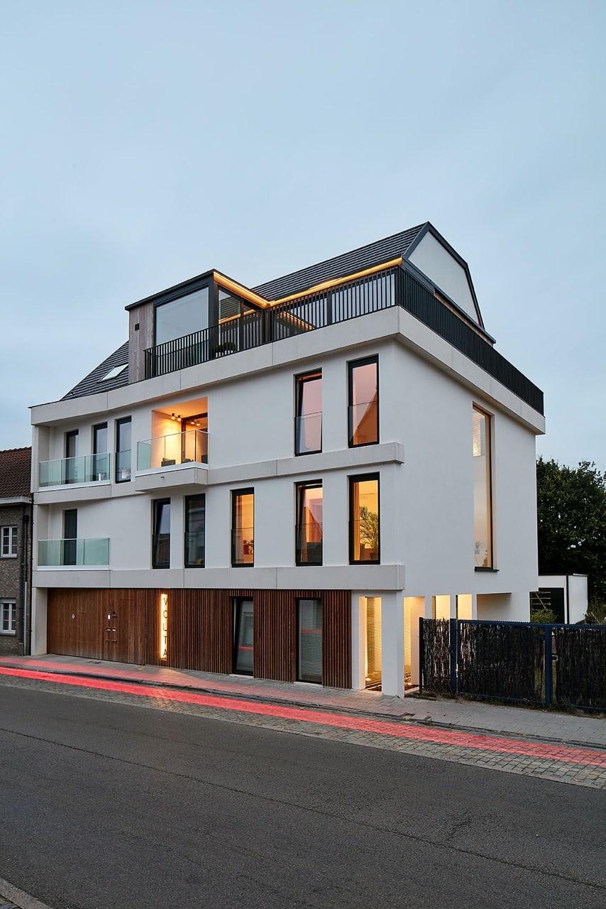Volta - 5 appartementen - Maldegem | Realisaties - Strak bouw bv