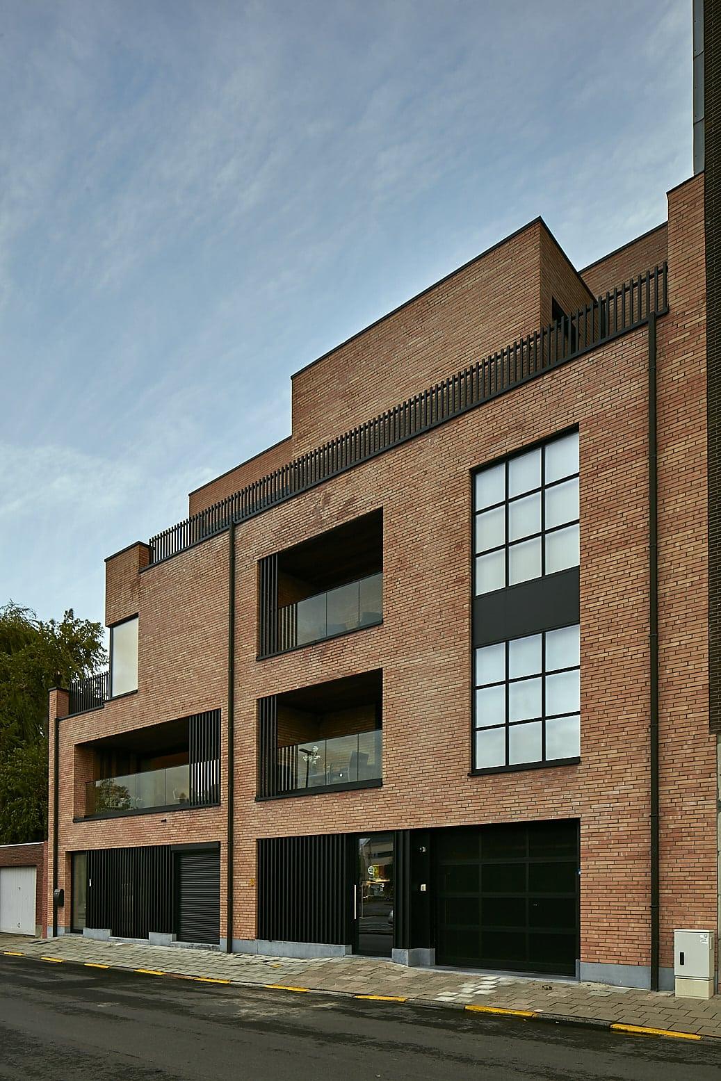 East view - 7 appartementen - Zelzate | Realisaties - Strak bouw bv
