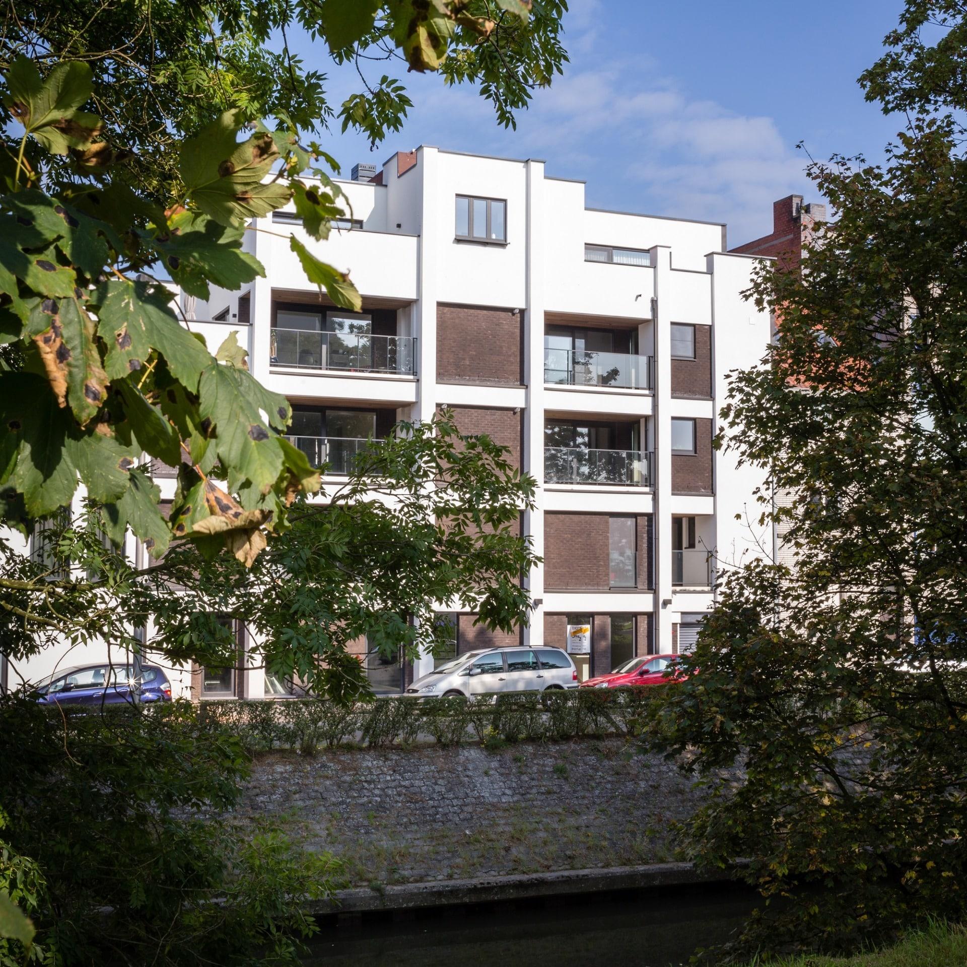 River view - 5 appartementen - Gent | Realisaties - Strak bouw bv